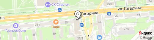 Банкомат, НБ Траст, ПАО на карте Липецка