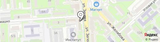 Прокуратура Липецкой области на карте Липецка