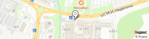 Кафе быстрого питания на карте Липецка
