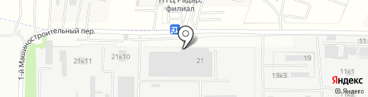 Комплекс на карте Ростова-на-Дону