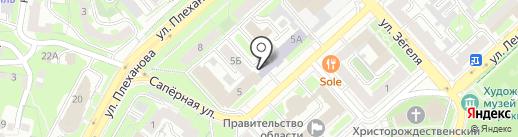 ЛГТУ на карте Липецка
