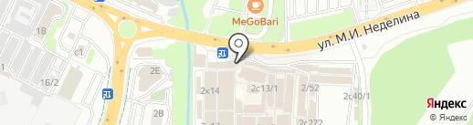 Магазин электротоваров на карте Липецка