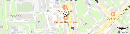 Миг-Мак плюс на карте Липецка