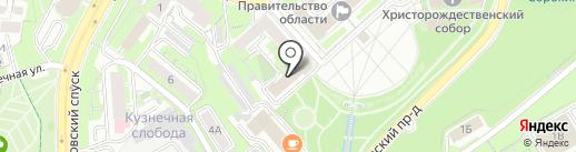 Управление ЗАГС и архивов Липецкой области на карте Липецка