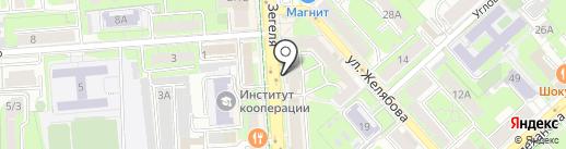 Банкомат, АКБ Фора-банк на карте Липецка