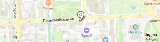 Салон-магазин цветов на карте Липецка