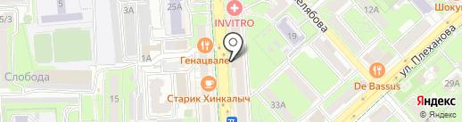 Torex на карте Липецка