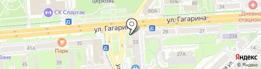 Банк ВТБ 24, ПАО на карте Липецка