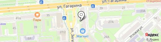 Клуб Босяков на карте Липецка