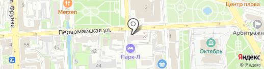Exprecc на карте Липецка