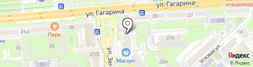 Нуга Бест на карте Липецка