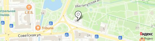 Храм Первоверховных Апостолов Петра и Павла на карте Липецка