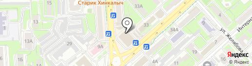 Фридом Финанс на карте Липецка