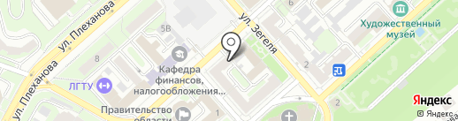 Молодая Гвардия Единой России на карте Липецка