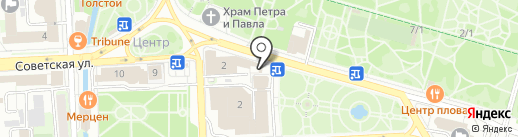Жара на карте Липецка