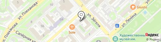 Монетный двор на карте Липецка