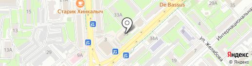 Областная детско-юношеская спортивно-адаптивная школа на карте Липецка