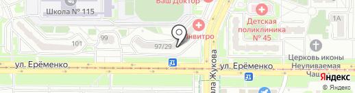 Boxberry на карте Ростова-на-Дону