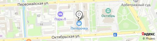 Мастерская по ремонту бытовой техники на карте Липецка