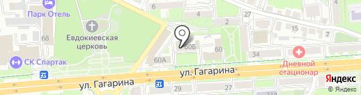 Центр гигиены и эпидемиологии в Липецкой области на карте Липецка