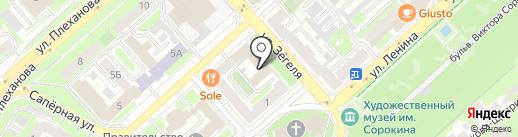 СлавРусь на карте Липецка