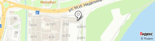 Магазин обоев на карте Липецка