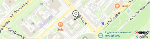 Единая Россия на карте Липецка