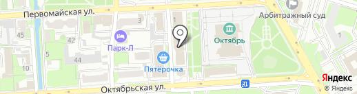 ИФНС на карте Липецка