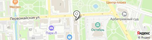Банк ВТБ, ПАО на карте Липецка