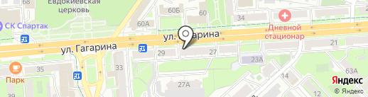 Veresk на карте Липецка