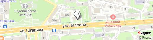 Липецкая областная ветеринарная лаборатория на карте Липецка