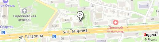 Управление ветеринарии Липецкой области на карте Липецка