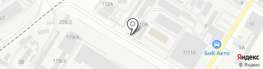 Первая Линия на карте Ростова-на-Дону