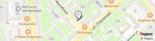 Белый Квадрат на карте Липецка