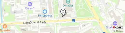 Бородин и партнеры на карте Липецка