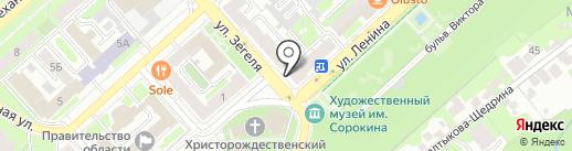 Центр социальной защиты населения по г. Липецку на карте Липецка