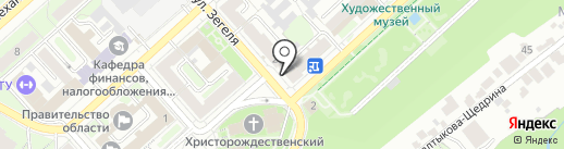 Управление здравоохранения Липецкой области на карте Липецка