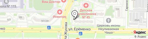 В тренде на карте Ростова-на-Дону