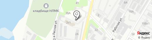 Альянс на карте Липецка