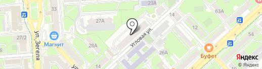 Медлайф на карте Липецка