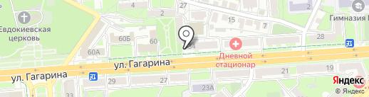 Самовар на карте Липецка