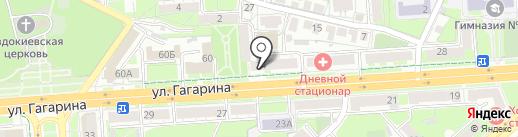 Стиль-А на карте Липецка