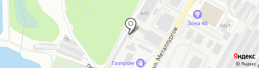 АДС-Бетон на карте Липецка