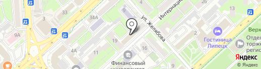 Федерация судебных экспертов, НП на карте Липецка