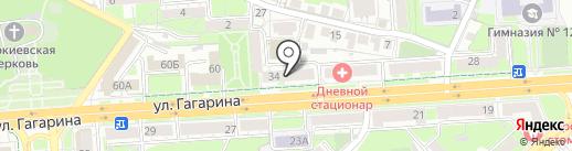 Гончарова и партнеры на карте Липецка