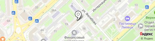 ПИРС Консалт на карте Липецка