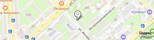 Галерея Назарова на карте Липецка