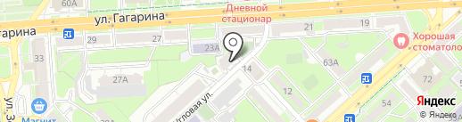 КИТ на карте Липецка