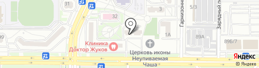 Гранитная мастерская на карте Ростова-на-Дону