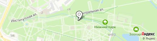 Платный туалет на карте Липецка
